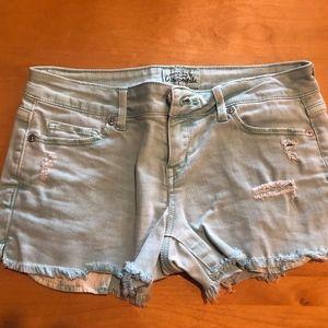 Mint Jean Shorts